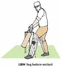 [Graphic: Leg Before Wicket]
